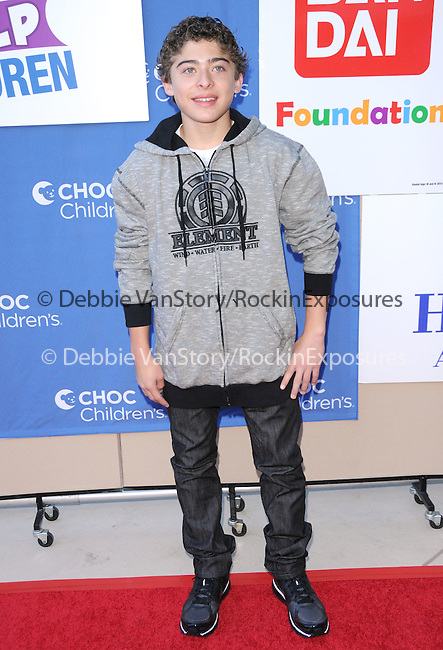 world rights - Anaheim, CA - November 14, 2010 - KIDS HELP CHILDREN charity event for Children's  Hospital Orange County [CHOC] held at The Anaheim Hilton Hotel..-PICTURED: Ryan Ochoa.-PHOTO by:  © 2010 Hollywood Press Agency.-RIN_CHOC_50