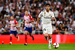 Marco Asensio of Real Madrid in action during their La Liga  2018-19 match between Real Madrid CF and Atletico de Madrid at Santiago Bernabeu on September 29 2018 in Madrid, Spain. Photo by Diego Souto / Power Sport Images