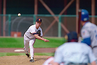 SAN FRANCISCO, CA - Bill Swift of the San Francisco Giants pitches during a game against the Los Angeles Dodgers at Candlestick Park in San Francisco, California in 1991. Photo by Brad Mangin