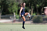 CARY, NC - JUNE 10: North Carolina Courage's Claire Wagner. The North Carolina Courage held a scrimmage against the CASL Red South U16 Boys team on June 10, 2017, at WakeMed Soccer Park Field 7 in Cary, NC.