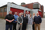 Local residents on Scarlet Street  outside the old Firestation concerned about proposal for housing on the site.<br /> <br /> Photo-Jenny Matthews