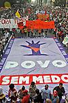 Manifestaçao Ato fora Temer na Avenida Paulista. Sao Paulo. 2016. Fotos de Marcia Minillo.