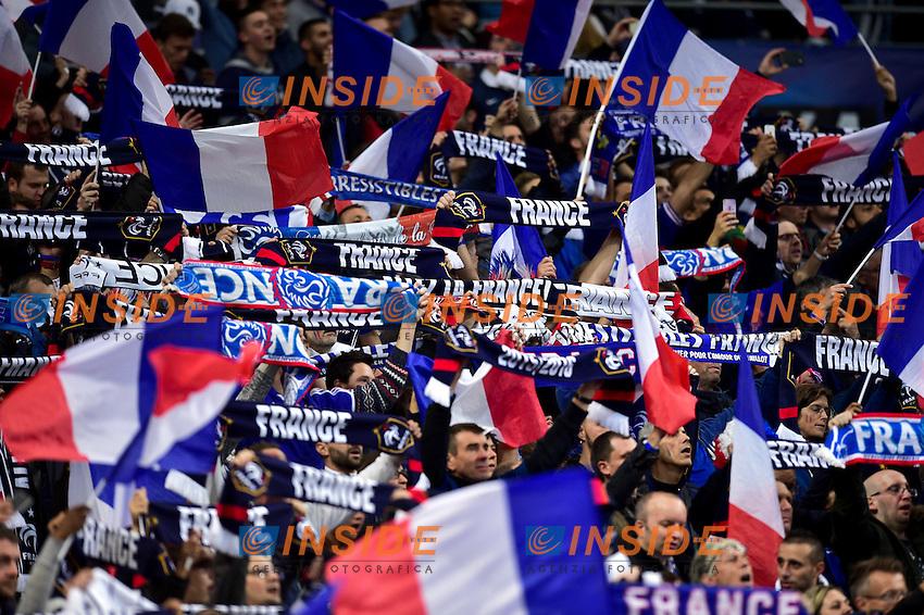 supporters de l equipe de France - ambiance <br /> Parigi 07-10-2016 Calcio Qualificazioni mondiali <br /> Francia Bulgaria<br /> Foto Panoramic/Insidefoto <br /> ITALY ONLY
