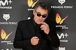 Eduard Fernandez attends to the Feroz Awards 2017 in Madrid, Spain. January 23, 2017. (ALTERPHOTOS/BorjaB.Hojas)