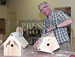 Pat O'Mahony pictured at the open day at Mens Sheds on the Donore Road. Photo:Colin Bell/pressphotos.ie