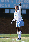 24 November 2007: North Carolina's Nikki Washington. The University of Notre Dame Fighting Irish defeated University of North Carolina Tar Heels 3-2 at Fetzer Field in Chapel Hill, North Carolina in a Third Round NCAA Division I Womens Soccer Tournament game.