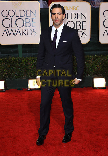 ELI ROTH.67th Golden Globe Awards held Beverly Hilton, Beverly Hills, California, USA..January 17th, 2010.globes full length black suit.CAP/ADM/KB.©Kevan Brooks/Admedia/Capital Pictures