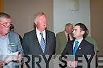 John O'Donoghue at the South Kerry Election count in The Malton Hotel, Killarney, last Friday..