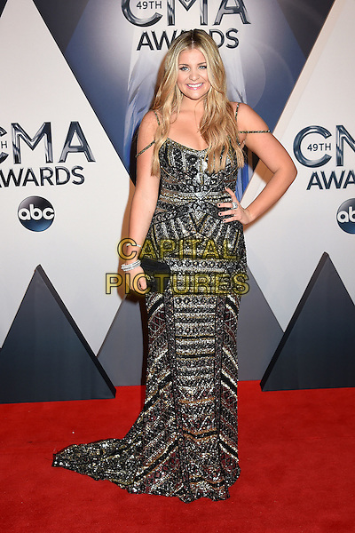 4 November 2015 - Nashville, Tennessee - Lauren Alaina. 49th CMA Awards, Country Music's Biggest Night, held at Bridgestone Arena. <br /> CAP/ADM/LF<br /> &copy;LF/ADM/Capital Pictures