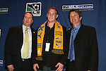 12 January 2007: Ty Harden was taken with the tenth pick of the second round (23rd overall) by the Los Angeles Galaxy.  The 2007 MLS SuperDraft was held in the Indianapolis Convention Center in Indianapolis, Indiana during the National Soccer Coaches Association of America's annual convention.