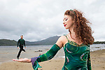 11-9-2018; Riverdance lead dancers Patrick O'Mahony from Ballylongford, Co. Kerry and Amy-Mae Dolan from Co. Tyrone pictured at Muckross Lake, Killarney on Tuesday ahead of their residency at the INEC Killarney which begins this Wednesday 12th and running until Sunday 16th<br /> Photo: Don MacMonagle<br /> <br /> pr photo photo