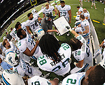 Tulane defeats North Texas, 24-21, with a field goal as time expires at the Mercedes-<br /> Benz Superdome in New Orleans.