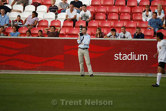 Sandy - Mountain View vs. Woods Cross High School boys soccer, 4A state championship game  Thursday May 21, 2009 at Rio Tinto Stadium..jens nielson