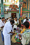 Pondicherry temple. 2015