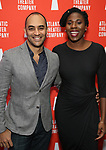 Saheem Ali and guest during the Opening Night after party for Atlantic Theater Company's 'The Mother' at The Gallery at the Dream Downtown on March 11, 2019 in New York City.