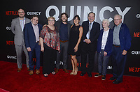NEW YORK, NY - SEPTEMBER 12:  Director, Alan Hicks and family  attend the New York Premiere of Netflix&rsquo;s Quincy at The Museum of Modern Art on September 12, 2018 in New York City. <br /> CAP/MPI/RH<br /> &copy;RH/MPI/Capital Pictures