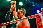 Enttaeuschung bei Firat Arslan nach dem Kampf / Firat Arslan (GER) vs. Kevin Lerena (ZAF) - Cruiserweight IBO World Title ; ; Boxen: ECB ECBOXING am 09.02.2020 in Goeppingen (EWS Arena), Baden-Wuerttemberg, Deutschland.<br /> <br /> <br /> Foto © PIX-Sportfotos *** Foto ist honorarpflichtig! *** Auf Anfrage in hoeherer Qualitaet/Aufloesung. Belegexemplar erbeten. Veroeffentlichung ausschliesslich fuer journalistisch-publizistische Zwecke. For editorial use only.