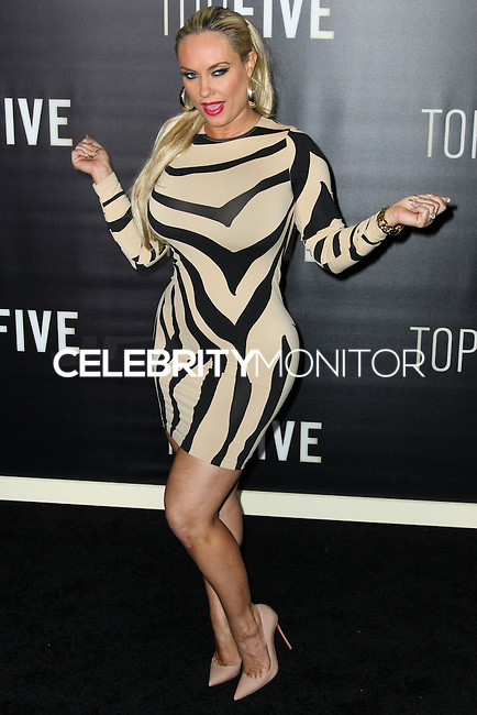 NEW YORK CITY, NY, USA - DECEMBER 03: Coco Austin arrives at the New York Premiere Of 'Top Five' held at the Ziegfeld Theatre on December 3, 2014 in New York City, New York, United States. (Photo by Celebrity Monitor)