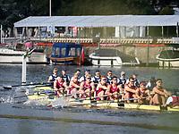 Henley Royal Regatta, Henley on Thames, Oxfordshire, 28 June - 2 July 2017.  Friday  08:36:14   30/06/2017  [Mandatory Credit/Intersport Images]<br /> <br /> Rowing, Henley Reach, Henley Royal Regatta.<br /> <br /> The Temple Challenge Cup<br />  Yale University, U.S.A. v  Oxford Brookes University 'B'