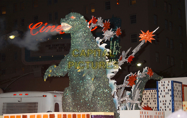 "GODZILLA.World Premiere of ""Godzilla Final Wars"" held at Grauman's Chinese Theatre, Hollywood, California,.29 November 2004..**UK SALES ONLY**.Ref: ADM.www.capitalpictures.com.sales@capitalpictures.com.©L.Farr/AdMedia/Capital Pictures ."