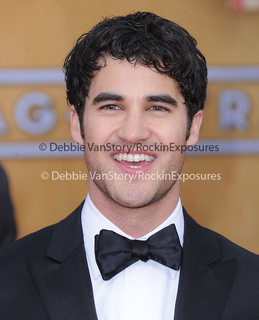 Darren Criss at 19th Annual Screen Actors Guild Awards® at the Shrine Auditorium in Los Angeles, California on January 27,2013                                                                   Copyright 2013 Hollywood Press Agency