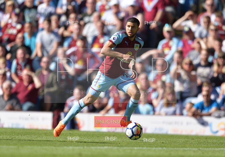 13/05/2018 Premier League Burnley v AFC Bournemouth<br /> <br /> Nahki Wells