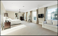 BNPS.co.uk (01202 558833)<br /> Pic: Savills/BNPS<br /> <br /> Three-mendous!<br /> <br /> Stunning seaside estate overlooking Sandbanks that wouldn't look out of place in the Hollywood Hills - and you get three properties for your &pound;9 million price tag.<br /> <br /> You get three luxury homes for the price of one with this spectacular private coastal estate - but they will still need deep pockets as the trio of properties are on the market for &pound;8.995m.<br /> <br /> The Mulberry House Estate is in the leafy Canford Cliffs area of Poole, Dorset, and has a grand five-bedroom mansion, a second detached five-bedroom house and a two-bedroom gate house.<br /> <br /> Locals describe the Canford Cliffs area as the 'Hollywood Hills' of the coastal property hotspot, more refined and less showy than the more 'Malibu style' Sandbanks peninsula that it overlooks.<br /> <br /> Offering beautiful views but with privacy and seclusion, and without the tourist crowds that the Sandbanks millionaire's enclave attracts.<br /> <br /> Estate agent Savills say the sale is a &quot;unique opportunity&quot; as the 2.2 acre Mulberry property is the only private estate in the area.