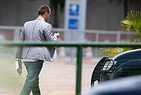 BRASILIA, DF, 06.12.2018 - BOLSONARO-CCBB-   O deputado federal Eduardo Bolsonaro(PSL/SP), no CCBB, onde ocorre a transição do Governo, nesta quinta, 06.(Foto:Ed Ferreira/Brazil Photo Press)