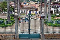 Praca Frei Orlando em Sao Joao del Rei. Minas Gerais. 2011. Foto de Marcia Minillo.