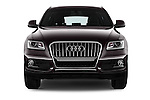 Car photography straight front view of a 2016 Audi Q5 5 Door Suv Front View