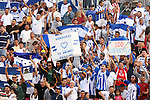 15 March 2008: Honduras fans. The United States U-23 Men's National Team defeated the Honduras U-23 Men's National Team 1-0 at Raymond James Stadium in Tampa, FL in a Group A game during the 2008 CONCACAF's Men's Olympic Qualifying Tournament.