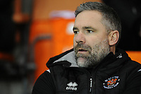 Blackpool Coach David Dunn<br /> <br /> Photographer Kevin Barnes/CameraSport<br /> <br /> Emirates FA Cup Third Round Replay - Blackpool v Reading - Tuesday 14th January 2020 - Bloomfield Road - Blackpool<br />  <br /> World Copyright © 2020 CameraSport. All rights reserved. 43 Linden Ave. Countesthorpe. Leicester. England. LE8 5PG - Tel: +44 (0) 116 277 4147 - admin@camerasport.com - www.camerasport.com
