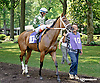 Legal Laura before The Christiana Stakes at Delaware Park on 7/9/14
