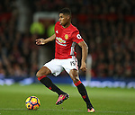 Marcus Rashford of Manchester United during the Premier League match at the Old Trafford Stadium, Manchester. Picture date: November 27th, 2016. Pic Simon Bellis/Sportimage