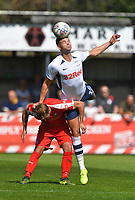 Preston North End's Jordan Storey in action during todays match  <br /> <br /> Photographer Dave Howarth/CameraSport<br /> <br /> Football Pre-Season Friendly - Bamber Bridge v Preston North End - Saturday 6th July 2019 - Sir Tom Finney Stadium - Bamber Bridge<br /> <br /> World Copyright © 2019 CameraSport. All rights reserved. 43 Linden Ave. Countesthorpe. Leicester. England. LE8 5PG - Tel: +44 (0) 116 277 4147 - admin@camerasport.com - www.camerasport.com