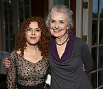 Bernadette Peters and Mary Beth Peil attends the Urban Stages' 35th Anniversary celebrating Women in the Arts at the Central Park Boat House on May 15, 2019 in New York City.
