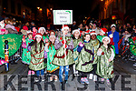 Holy Cross NS pupils at the Christmas in Killarney parade on Saturday evening