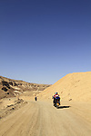 Israel, Negev, the road to the Small Crater