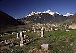 Cemetery in Silverton in June