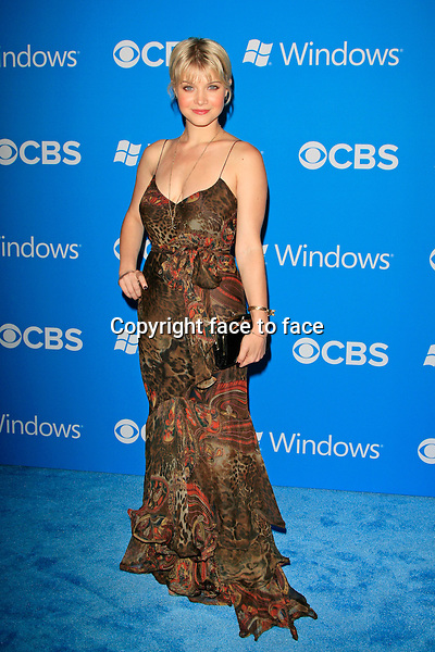 Sarah Jones at the CBS 2012 Fall Premiere party at Greystone Manor in Los Angeles, California, 18.09.2012...Credit: Martin Smith/face to face