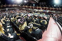 Spring Graduation in Humphrey Coliseum - first commencement ceremony for the College of Education and the College of Business.<br />  (photo by Megan Bean / &copy; Mississippi State University)