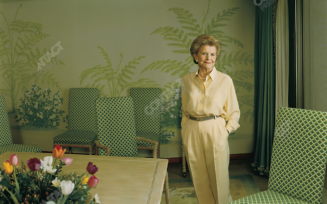 Betty Ford, former First Lady and Chairmna of the board of directors, The Betty Ford Center, Palm Springs, California, USA