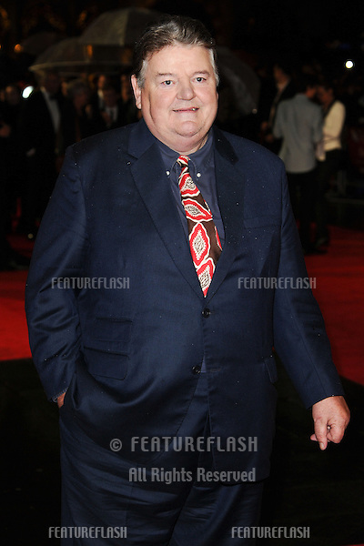 """Robbie Coltrane at the premiere for """"Great Expectations"""" being shown as the closing film of the London Film Festival 2012, Odeon Leicester Square, London. 21/10/2012 Picture by: Steve Vas / Featureflash"""