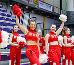 Stony Brook defeats UAlbany  69-60 in the America East Conference tournament quaterfinals at the  SEFCU Arena, Mar. 3, 2018.  Stony Brook cheerleaders.