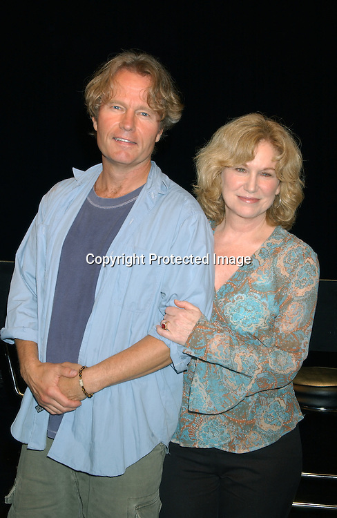 """..Mary Kay Place and John Savage..at a performance of """"The Exonerated """" at the 45 Bleecker..Theatre in New York City on August 8,2003. Photo by ..Robin Platzer, Twin Images.."""