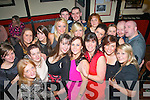 Staff from Dunnes Stores,The Horan centre,Tralee had a great time together in Turner's bar,Castle St,Tralee for their annual Christmas party.