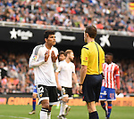 Valencia CF's    Danilo Barbosa   during La Liga match. January 31, 2016. (ALTERPHOTOS/Javier Comos)