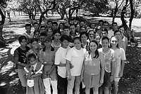 Group of school leavers,<br />
