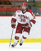Conor Morrison (Harvard - 38) - The visiting Quinnipiac University Bobcats defeated the Harvard University Crimson 3-1 on Wednesday, December 8, 2010, at Bright Hockey Center in Cambridge, Massachusetts.