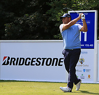 Ricardo Gonzalez (ARG) on the 11th tee during Round 1 of the Northern Ireland Open at Galgorm Castle Golf Club, Ballymena Co. Antrim. 10/08/2017<br /> Picture: Golffile | Thos Caffrey<br /> <br /> <br /> All photo usage must carry mandatory copyright credit     (&copy; Golffile | Thos Caffrey)